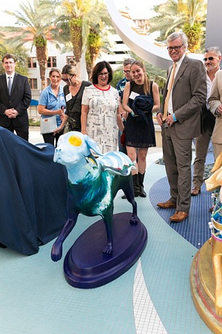 "In St. Pete, Kriseman lauds new class of Southeastern Guide Dogs ""Superheroes"" in effort to raise awareness Seven of 50 Superheroes on Parade dog sculptures were unveiled in St. Petersburg."