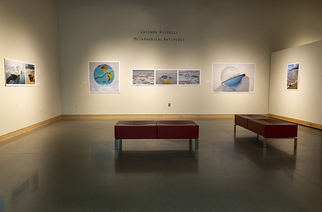 Metaphorical Antipodes Exhibition Installation at the University of Wyoming