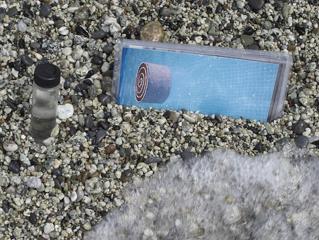 Clear Water Sample & Postcards, Monterosso al Mare, Italy