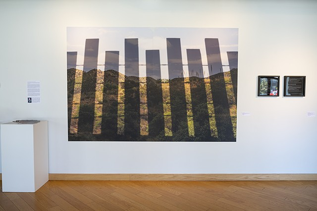Thomasa R., Tohono O'odham Elder, Tucson, Arizona, July 2019 [Installation at Gallery 924, Indianapolis, IN, October 2020]