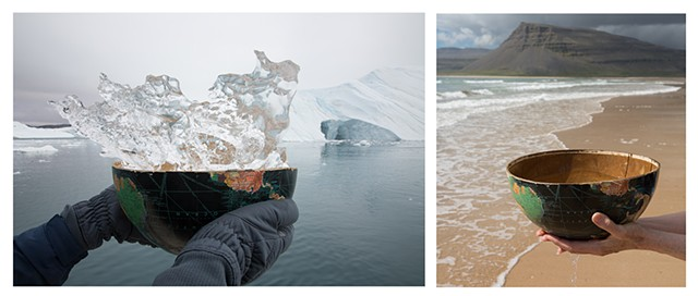 Disko Bay, Greenland and Westfjords, Iceland