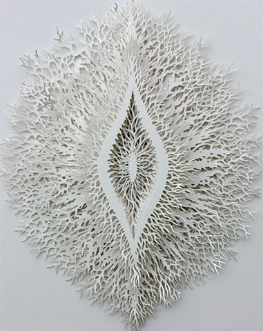Lasercut paper sculpture (limited edition)