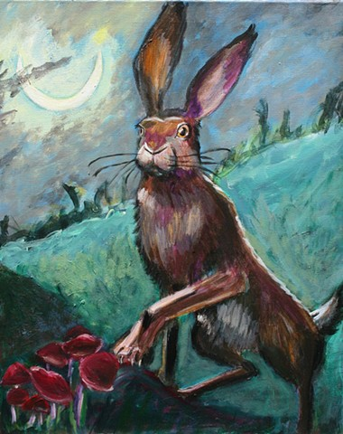 Rabbit Under the Moon