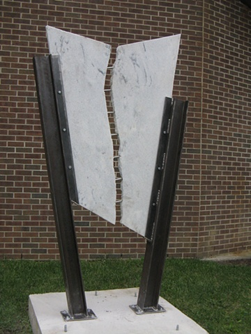 kevin vanek, sculpture, art, marble, outdoor, art