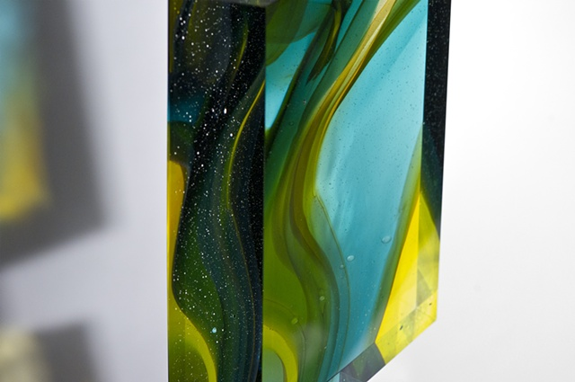 Glass sculpture by Cliff Maier