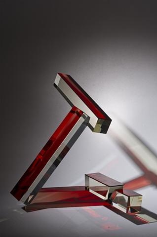 Glass Sculpture, Cliff Maier, Narrow Bridge Studio