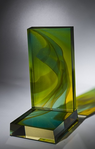 Narrow Bridge Studio Glass Sculpture