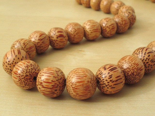 Palm Wood Necklace