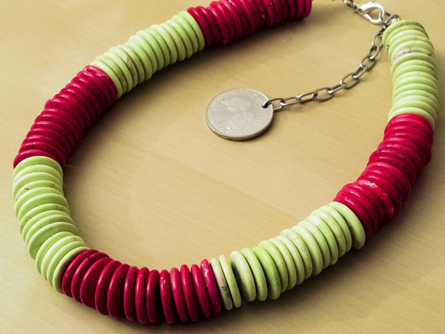 Lime & Raspberry Magnesite