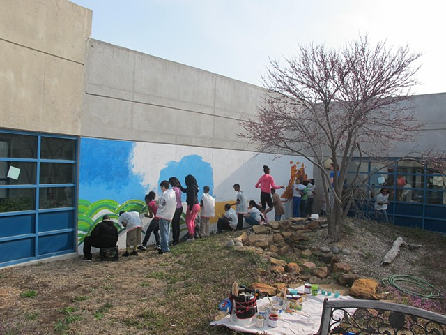 Jackson Elementary Mural Project- Kansas Wildlife