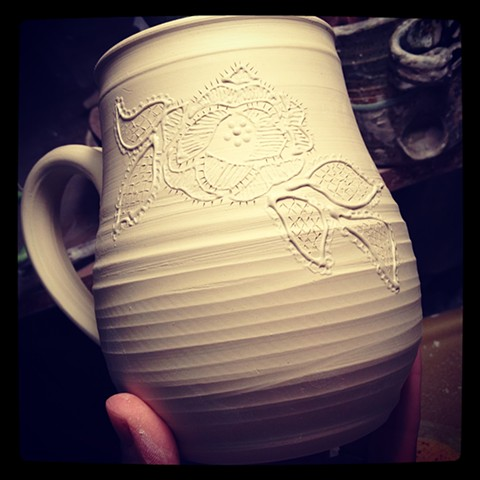 Mug in process
