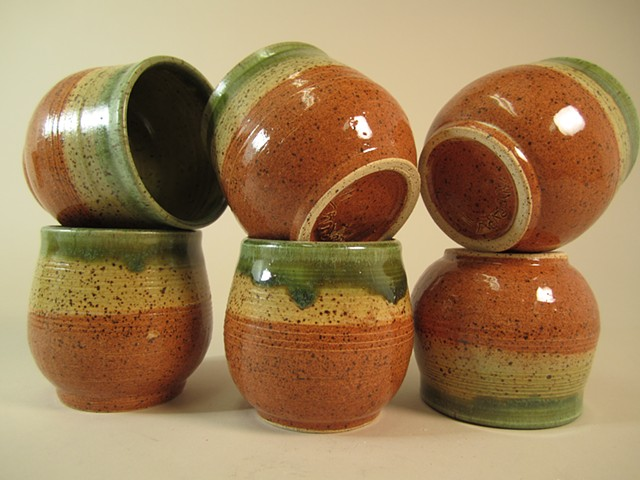 Hand Thrown Scotch Sippers