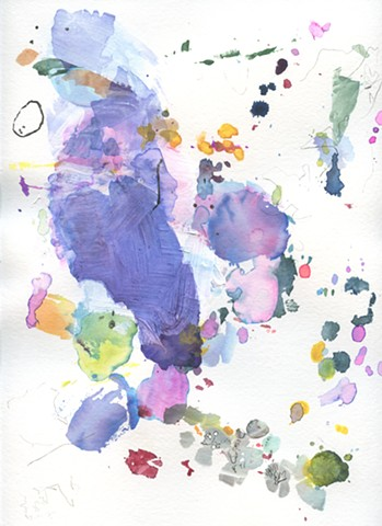 Archipelago: Blue Violet, Orchid and Moss Green