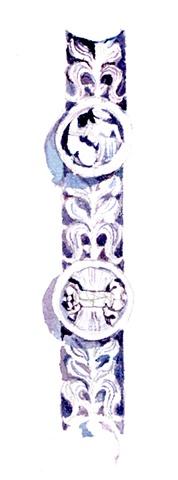 Carved Pilaster