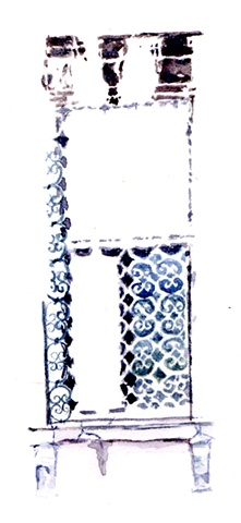 Window with Ironwork