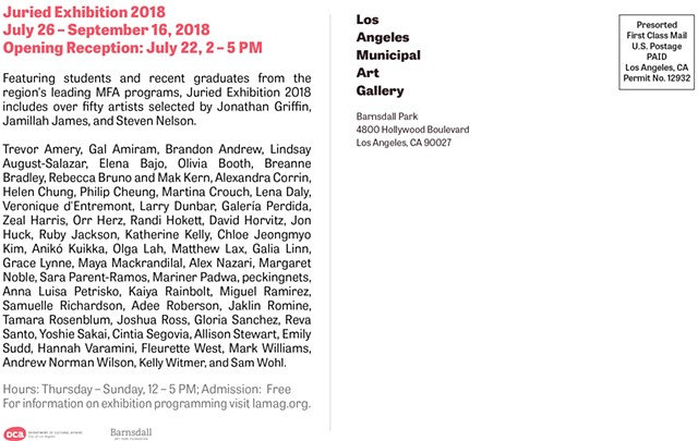 Juried Exhibition 2018