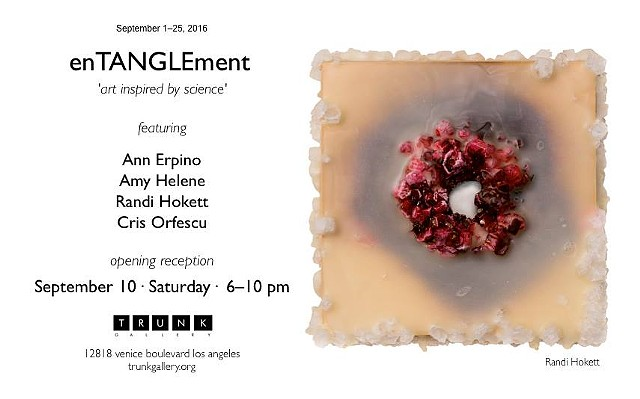 enTANGLEment- opening Sept. 10th