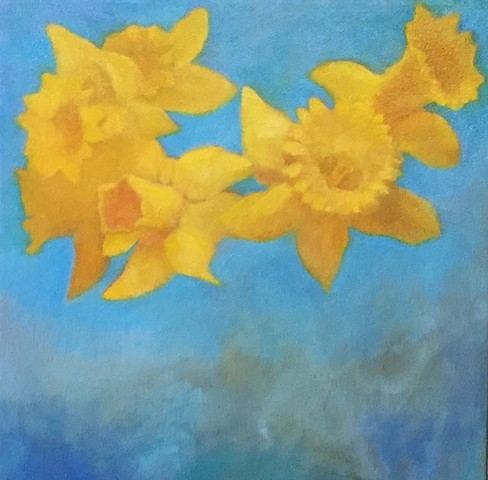 Daffodils. For Joyce Pensato.