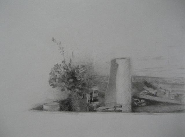 Still Life, Artist's Table