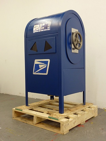 mail sculpture by Patrick D Wilson