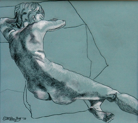 nude figure drawing figurative art