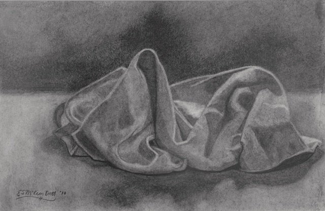 drawing charcoal still life art