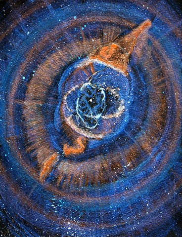 Cat's Eye Nebula, nebula, space, solar system, universe, nebulas, galaxy, cosmic, stars, space art, science, art, painting, astronomy, art science, science art, sci-art, sciart