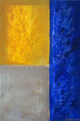 contemporary abstract art acrylic painting mixed media modern art