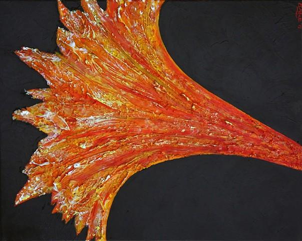 abstract art, modern art, contemporary art, flower art, hibiscus art, flame art, fire art