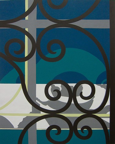 Gates and Grilles:  New Paintings 2015-16