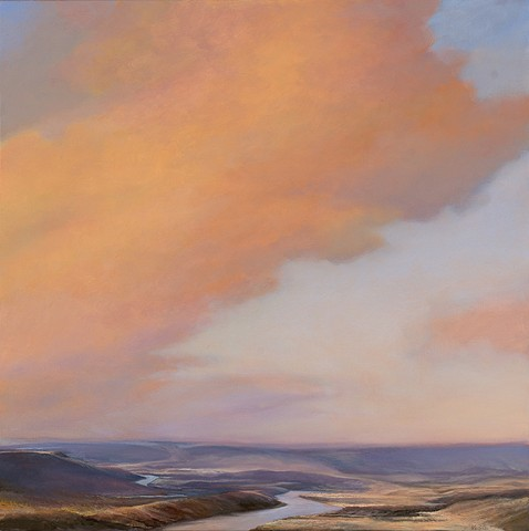 Warm Cloud, River Bend