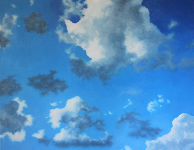 atmospheres clouds perth artist contemporary art perth sky painter painting