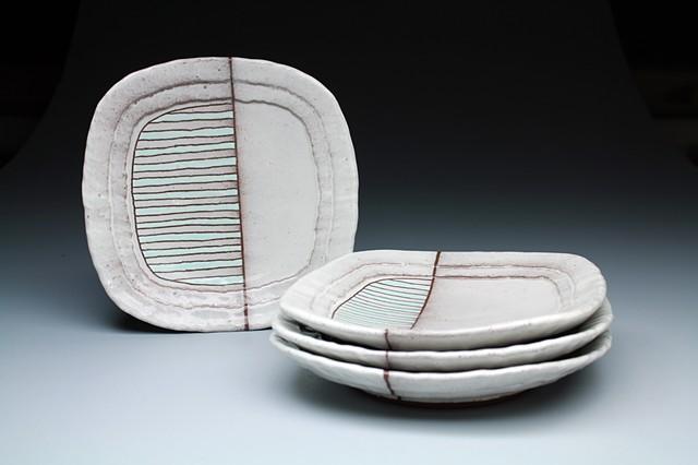 """""""Striped Fade Plates"""""""