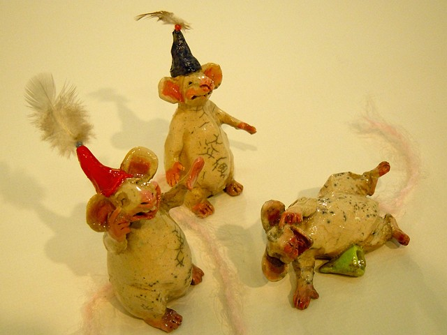 party mice ceramic