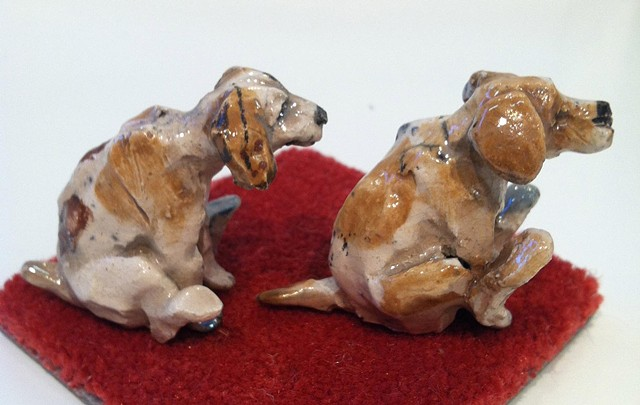 tiny butt scooting dogs : lisa schumaier