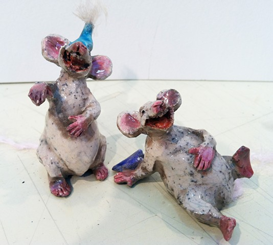 more laughing mice