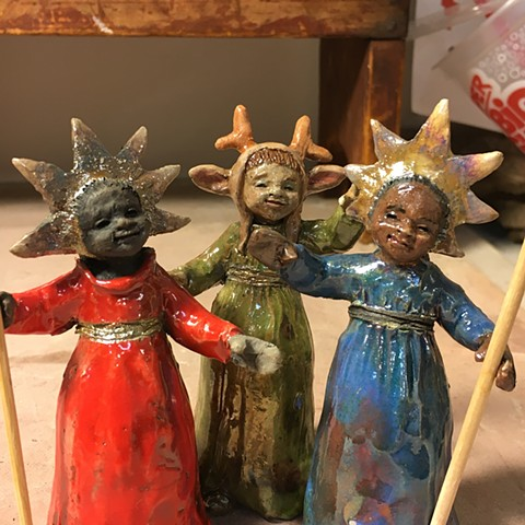 tiny multicultural angels