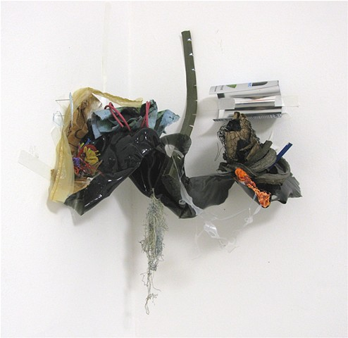 """debris from a lost campaign (corner piece)"""