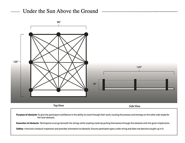Under the Sun Above the Ground obstacle design