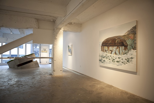 Reclamation installation at Patricia Sweetow Gallery, 2010