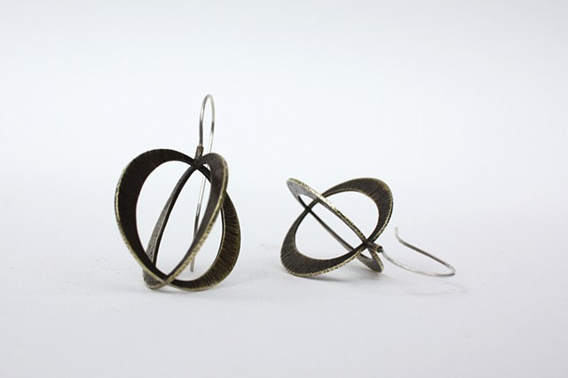 "Double ""O"" Earrings by Sara Owens"