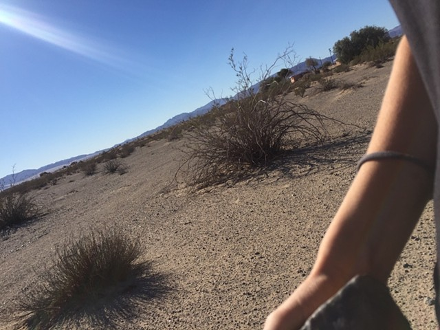 Here I had a solo vacation scheduled before his passing, and still went. In the desert I was able to collect rocks and throw blessings into the air for him.