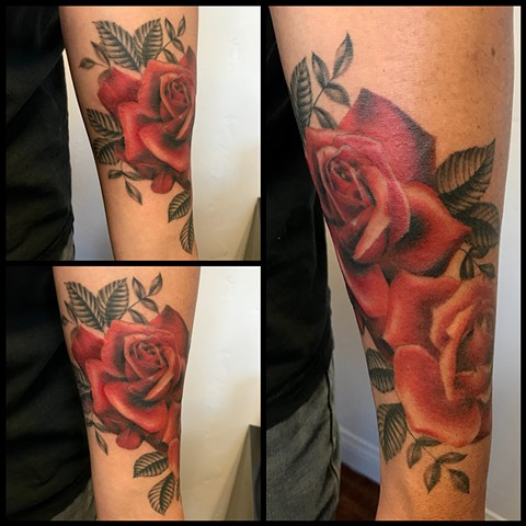 2cf5b1f78cecd Red Rose Tattoo. Fabulous Red Rose Tattoo With Red Rose Tattoo. Free ...