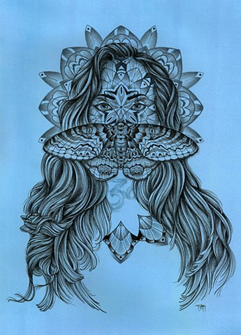Ace Of Wands Art And Tattoos By Amanda Marie