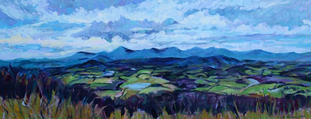 Original oil painting of Shenandoah valley by Katie Wall Podracky