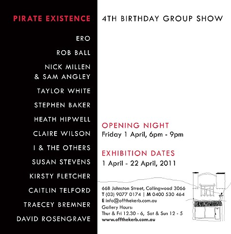Pirate Existence Invitation (back)