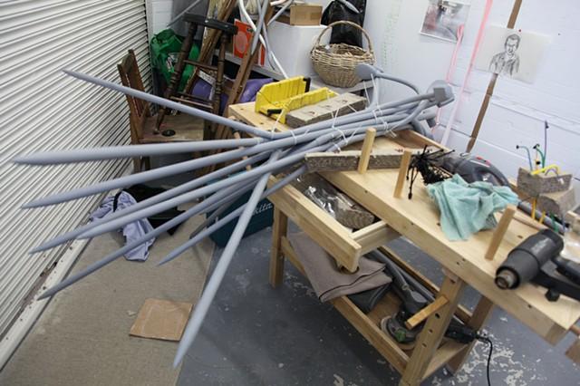 In the studio, developing Slip Knot.