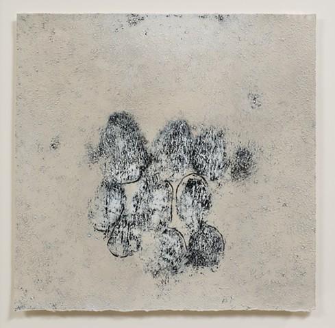 Clair-Obscur Acrylique sur toile / Acrylic on canvas 13 X 13 cm 2014