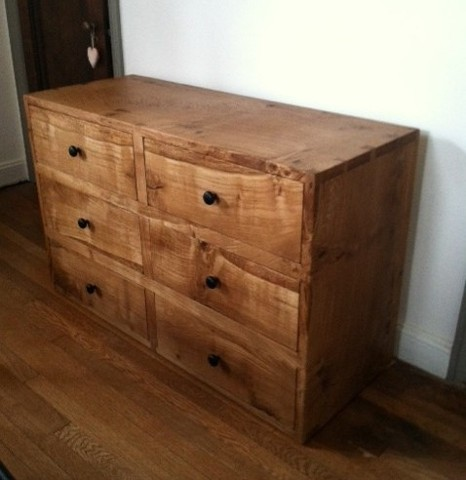 dresser white oak furniture hand cut dovetail joinery studio