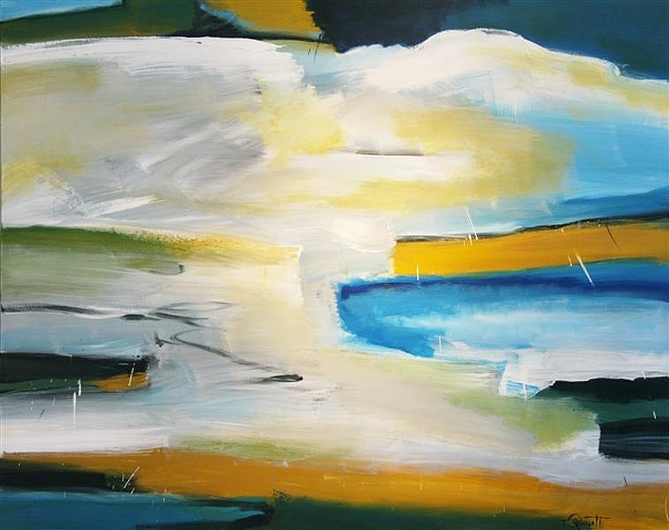 Untitled with Yellow I